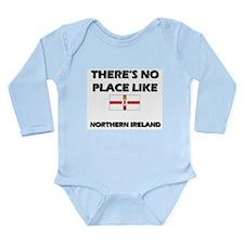 Cute Map of world Long Sleeve Infant Bodysuit