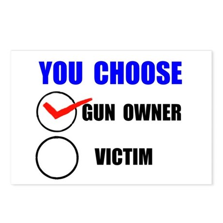 GUN OWNER Postcards (Package of 8)