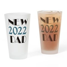 2015 New Dad Drinking Glass