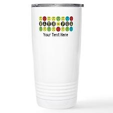 Customize Math = Fun Travel Mug