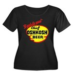 Chief Oshkosh Beer-1952 Women's Plus Size Scoop Ne