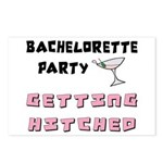 Bachelorette Party Invitation Postcards (8)