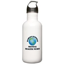 World's Funniest Menta Sports Water Bottle
