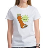 """I survived a leg cast"" Tee"