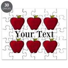 Personalizable Red Apples Puzzle