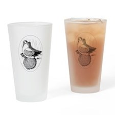 Fairy Swallow Pigeon Drinking Glass