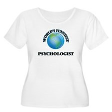 World's Funniest Psychologist Plus Size T-Shirt