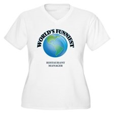 World's Funniest Restaurant Mana Plus Size T-Shirt