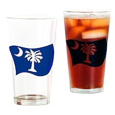 South Carolina State Flag Drinking Glass