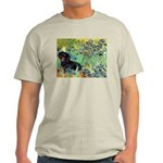 Irises & Dachshund (BT4) Light T-Shirt