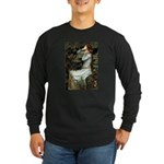 Ophelia's Dachshund Long Sleeve Dark T-Shirt