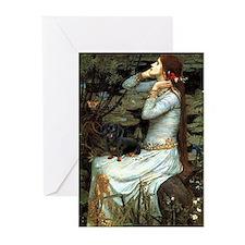 Ophelia's Dachshund Greeting Cards (Pk of 10)