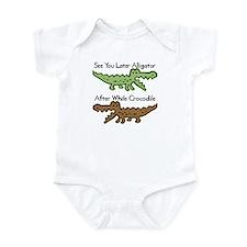 Alligator and Crocodile Infant Bodysuit
