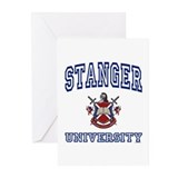 STANGER University Greeting Cards (Pk of 10)