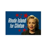 Rhode Island For Clinton Magnets