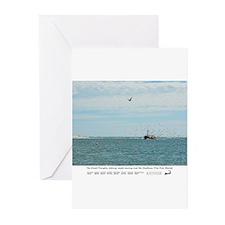 Chatham Pier Fish Market Greeting Cards (Pk of 20)