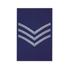 RAF Sergeant<BR> 10 Rectangle Magnets