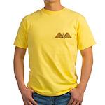 Masonic Wings Yellow T-Shirt