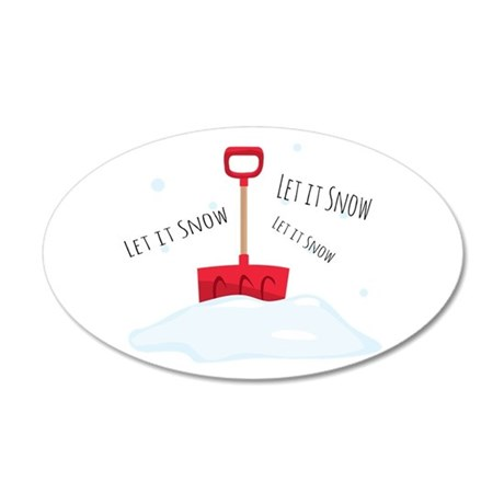 Let It Snow Wall Decal