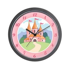 Fairytale Castle Wall Clock