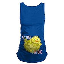 Easter Chick Original Maternity Tank Top