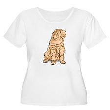 Shar Pei Plus Size T-Shirt