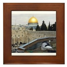 Holy Land Scenery Framed Tile