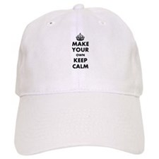 Make Your Own Keep Calm and Carry On Design Baseball Cap