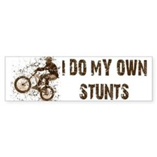 Mountain Bike - Stunts Bumper Bumper Sticker