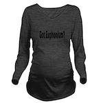 Euphonium Long Sleeve Maternity T-Shirt