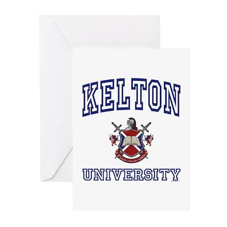 KELTON University Greeting Cards (Pk of 10)