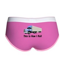 This Is How I Roll Semi Truck Women's Boy Brief