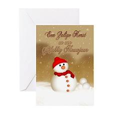 Flemish Christmas Card - Zalige Greeting Cards