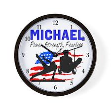 GYMNASTICS CHAMP Wall Clock