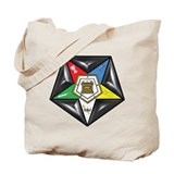 OES Star on a pillow  Tote Bag