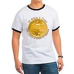 Gold Liberty 3 Ringer T