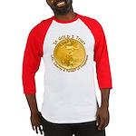 Gold Liberty 3 Baseball Jersey
