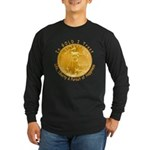 Gold Liberty 3 Long Sleeve Dark T-Shirt