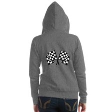 Chequered Flags Women's Zip Hoodie
