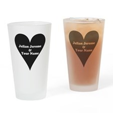Julian Jerome and Your Name Drinking Glass