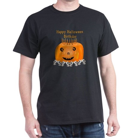 Halloween Birthday Dark T-Shirt