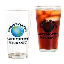 Automotive Mechanic Drinking Glass