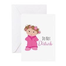 Do Not Disturb Greeting Cards