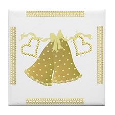 Golden Bells Keepsake Tile