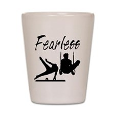 WINNING GYMNAST Shot Glass