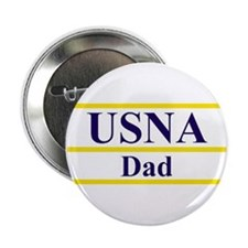 """USNA Dad 2.25"""" Button (10 pack)"""