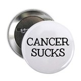 "Cancer Sucks 2.25"" Button"