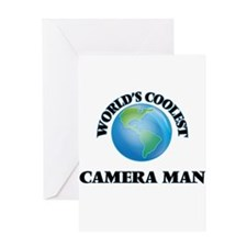 Camera Man Greeting Cards