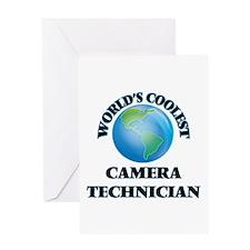 Camera Technician Greeting Cards