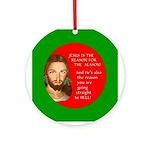 Season Hell Ornament (Round)